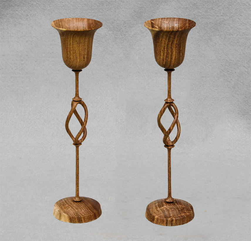 Tiefel twisted goblet